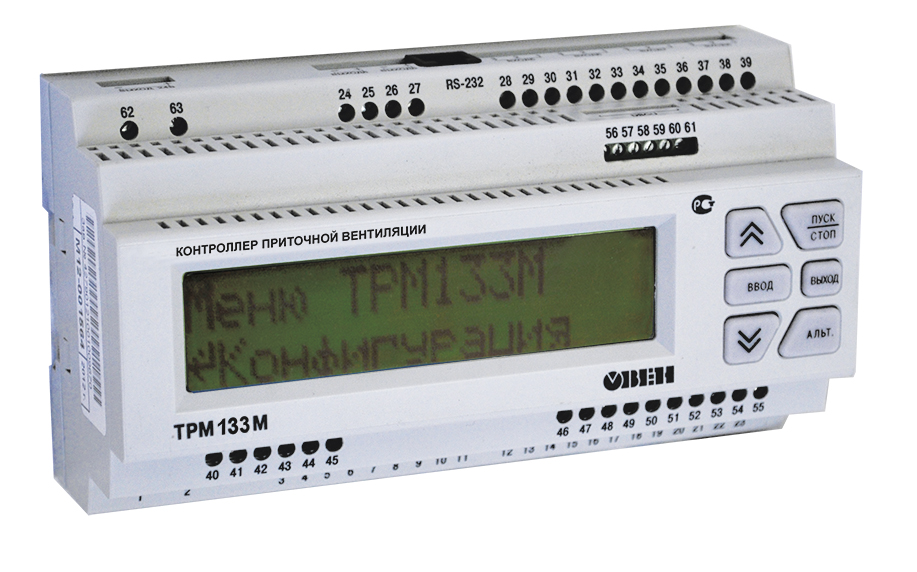 TRM133M* HVAC controller with communication function