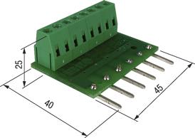 МКОП-6. Модуль для присоединения нагрузки с общим «плюсом»