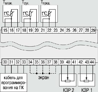 Схемы подключения ОВЕН МПР51