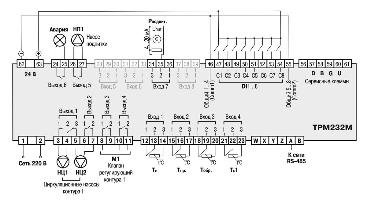 Одноконтурная система: Отопление