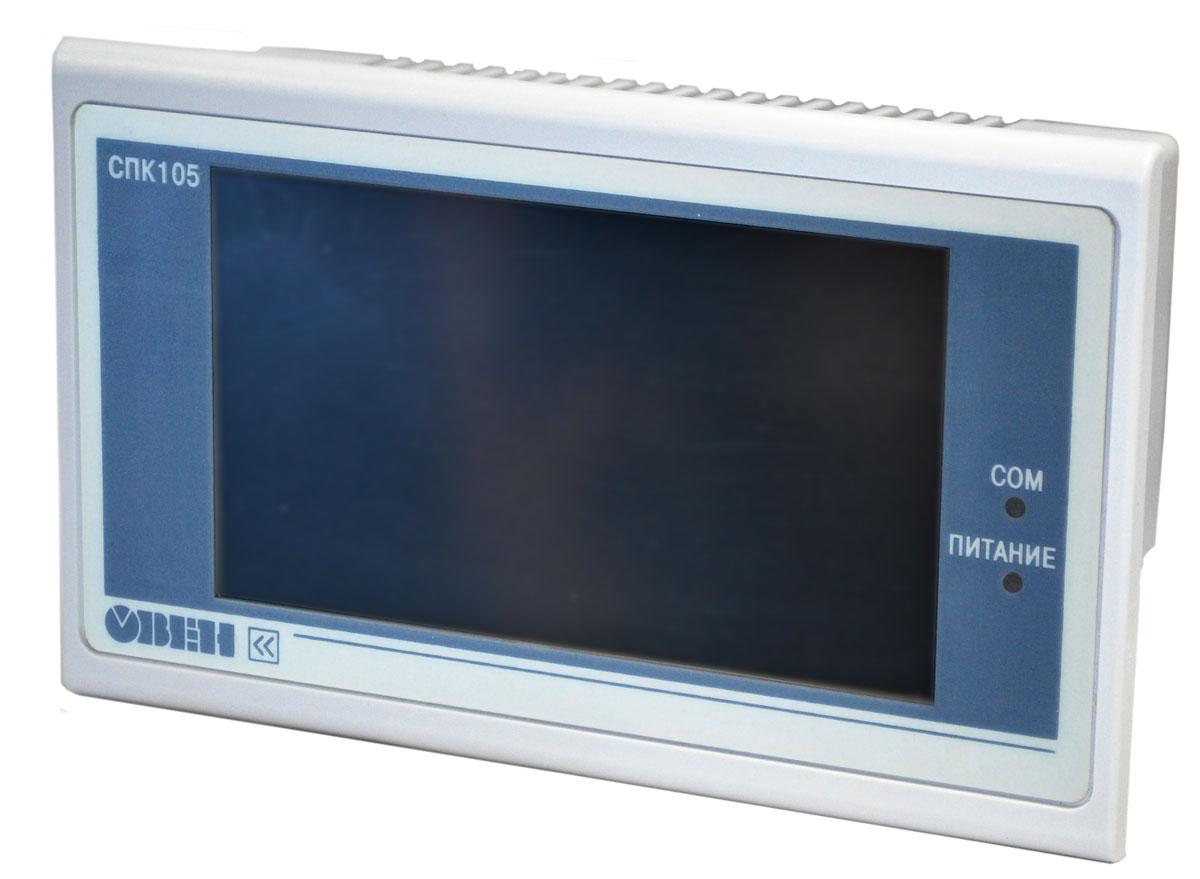 Панельный программируемый логический контроллер ОВЕН СПК105