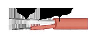 Кабель ПВХ тип S, 2×0,5