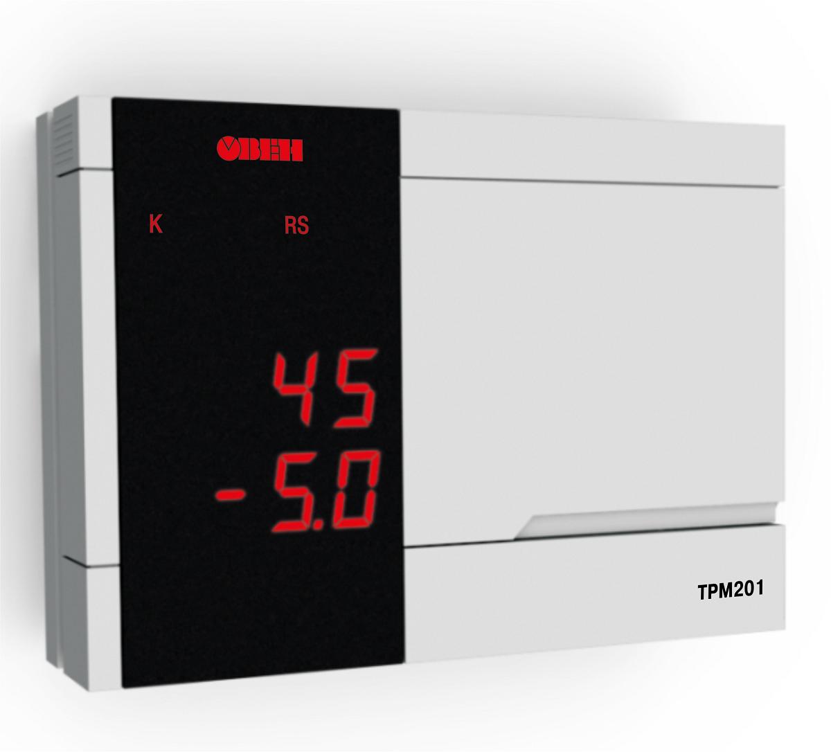 Измеритель-регулятор одноканальный с RS-485 ОВЕН ТРМ201
