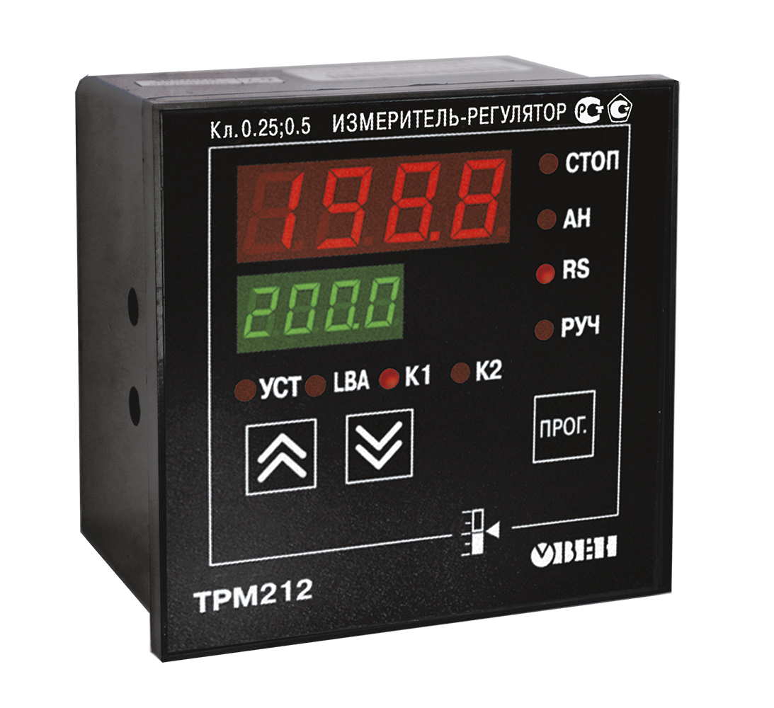 TRM212 PID controller for actuators