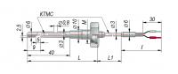 Конструктивные исполнения термопар с кабельным выводом модель 274