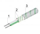 Кабель термопарный тип К (ХА), хромель-алюмель