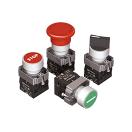 Кнопки, переключатели, джойстики, лампы в металлическом исполнении IP65 Meyertec MTB2-B