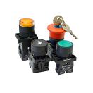 Кнопки, переключатели, лампы в пластиковом исполнении IP40 Meyertec MTB2-E