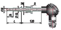 Конструктивное исполнение ДТП055