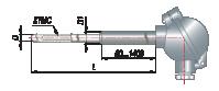 Преобразователи термоэлектрические на основе КТМС в защитной арматуре модель 145