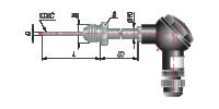 Преобразователь термоэлектрический с коммутационной головкой на основе КТМС модель 365