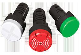 Сигнальные лампы, звонки, двухцветные индикаторы MT22