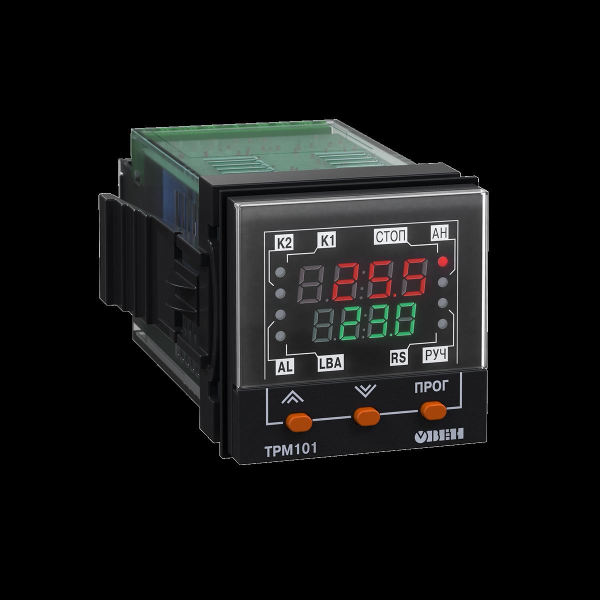ТРМ101 ПИД-регулятор с универсальным входом в корпусе 48×48мм