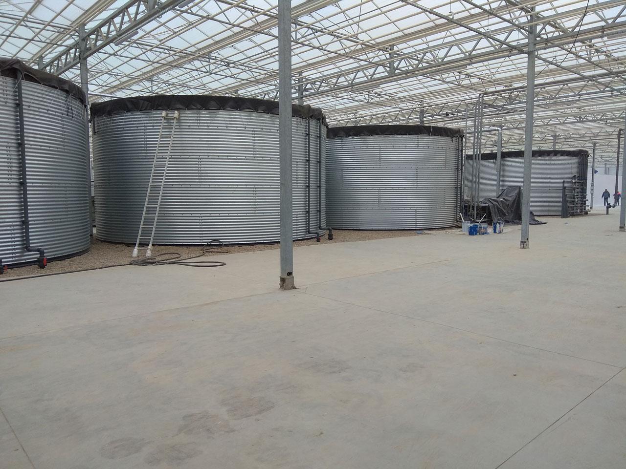 Система водоснабжения тепличного хозяйства