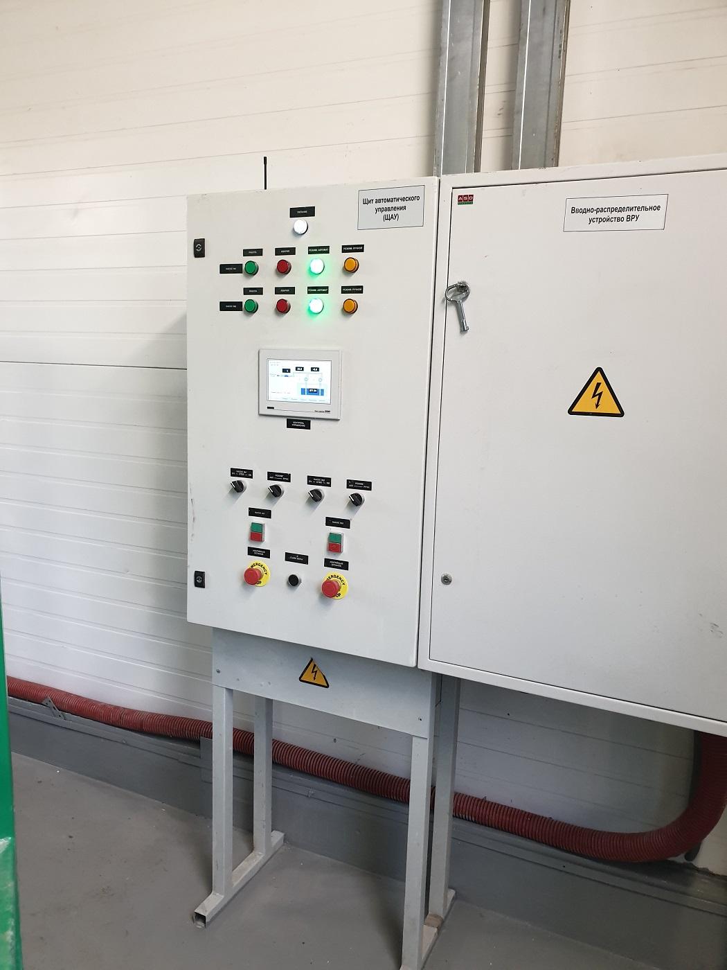 Автоматизация насосной станции
