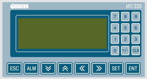 Элементы индикации и управления ОВЕН ИП320