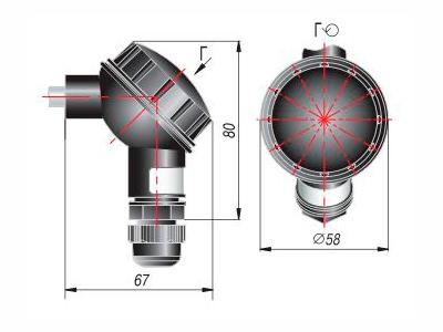 Модели с коммутационной головкой ОВЕН ДТП