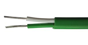 Провод термопарный К 2×0,35 СС 4,6 мм