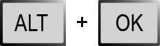 Переход со «Стартового экрана» в меню
