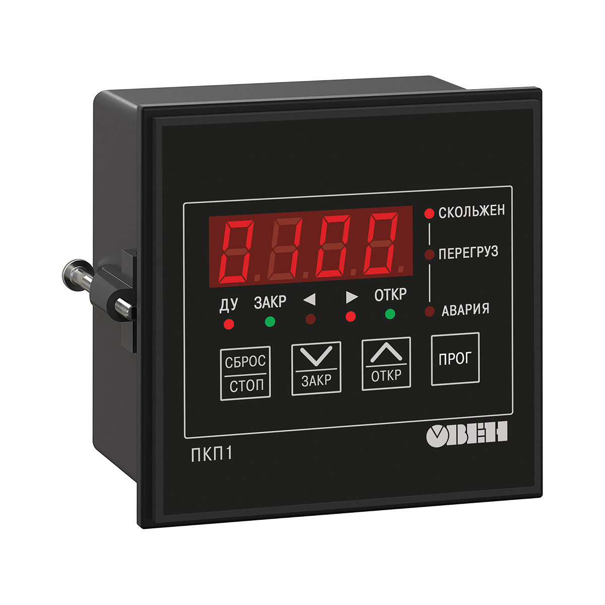 ПКП1 управление и защита электропривода задвижки без концевых выключателей