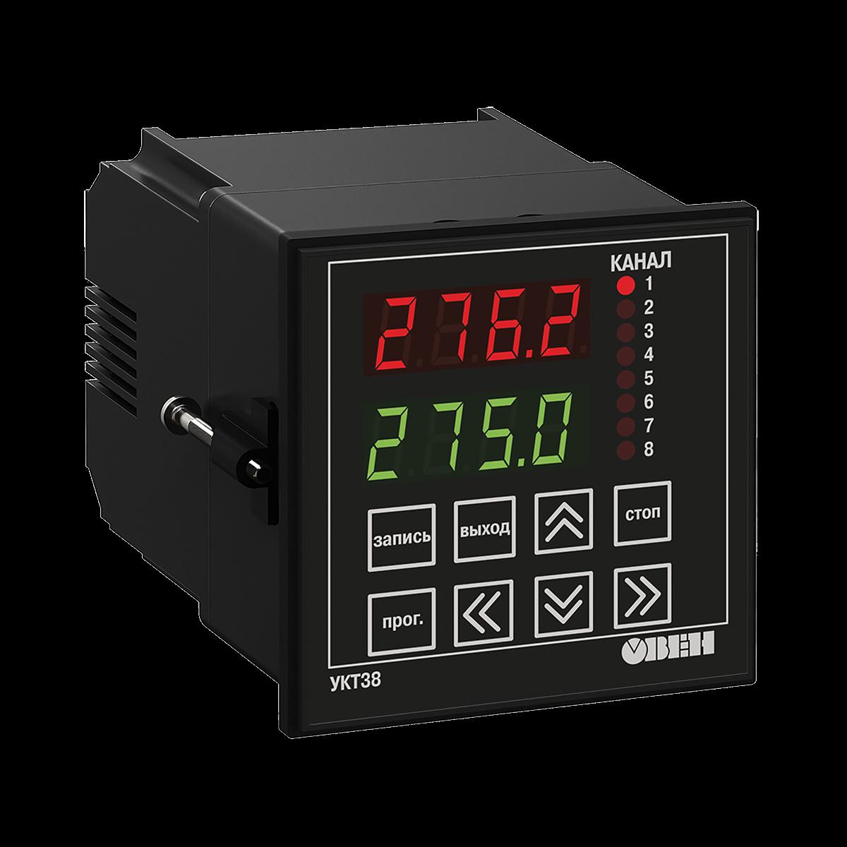 УКТ38 восьмиканальный измеритель с аварийной сигнализацией
