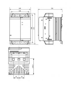Габаритные размеры УПП2-37К-В
